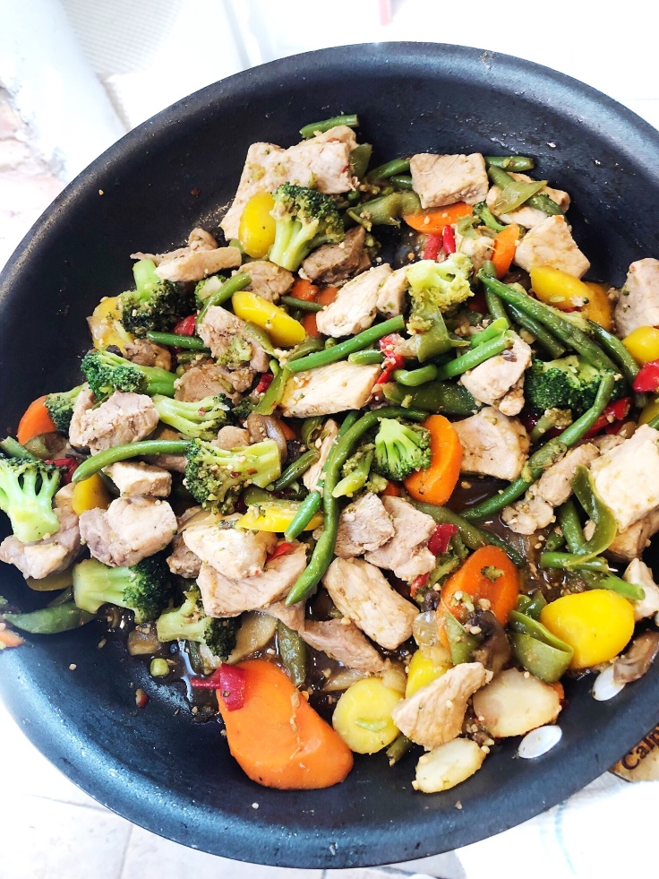Meal Prep this Whole30 Approved Fast and Easy Stir Fry