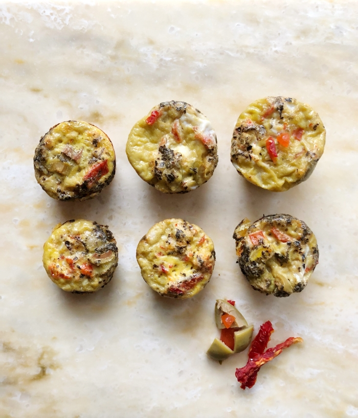 Meal prep these easy Tone It Up Whole30 approved Egg Muffins