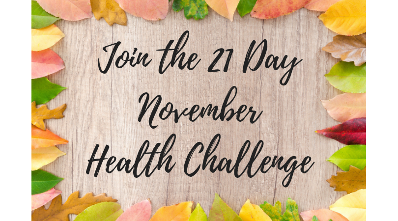 21 day health challenge nutrition reset fitness mindset