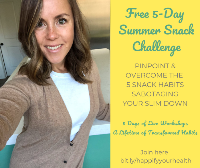 Copy of Summer Snack Challenge Ad